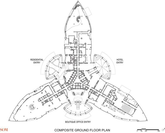 Burj khalifa floor plans dubai a d pinterest for Find floor plans by address
