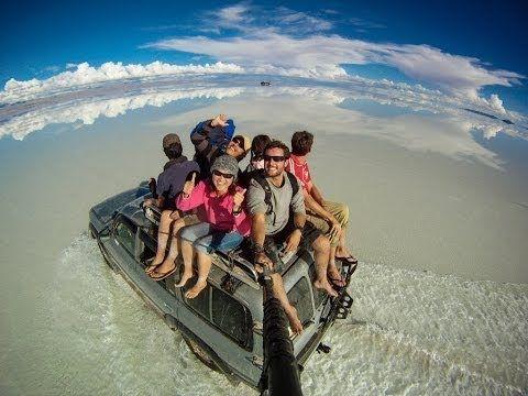 Epic Selfie - Bei diesen Bildern packt einen das Fernweh! Traveler Alex Chacon zeigt mit seinem Video 360° Selfies auf der Reise quer durch 36 Länder unfassbar schöne Eindrücke. Da möchte man am... #travel #wanderlust #fernweh #reise #selfie