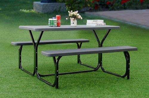 4 Giantex Camping Picnic Table Bench Set For Toddlers Picnic Table Bench Picnic Table Table And Bench Set
