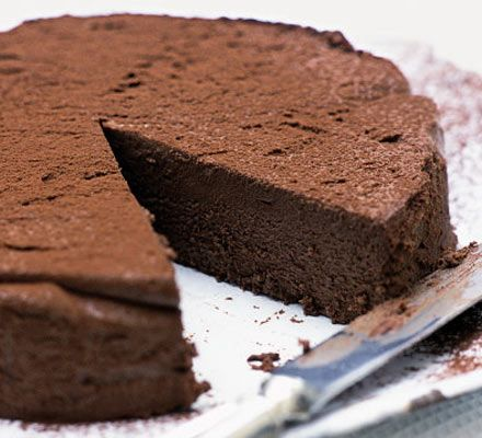Decadent chocolate truffle torte. Create a mouthwatering chocolate truffle torte - and there's no cooking necessary!
