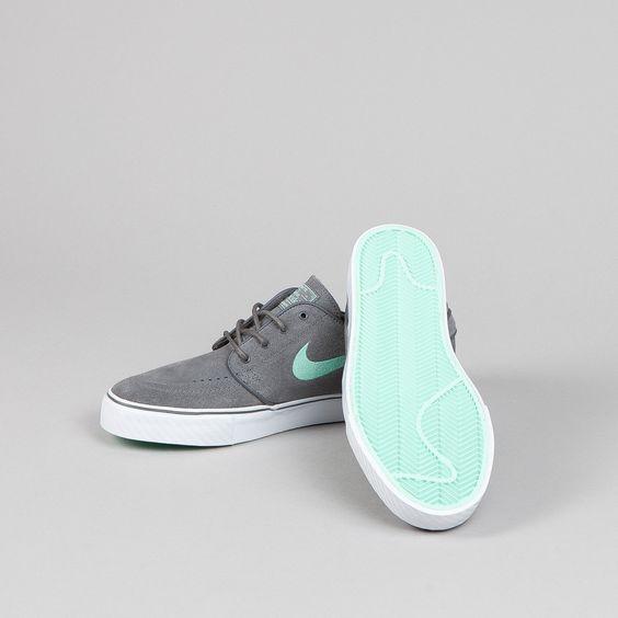 Nike SB Stefan Janoski Dark Grey - Medium Mint