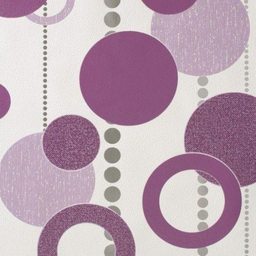 Rasch Tapete Plaisirs 788020 Retro Design Lila Online Bestellen Tapeten Ideen Tapeten Und Retro