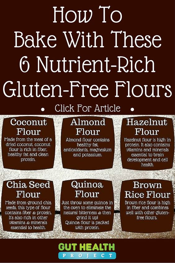 Gluten-Free Baking: Learn How To Bake With These 6 Gluten-Free Flours ...