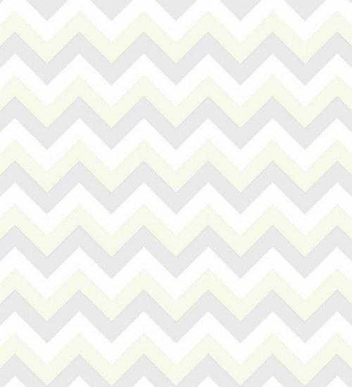 Papel pintado zig zag horizontal de diseño infantil y juvenil - 8009