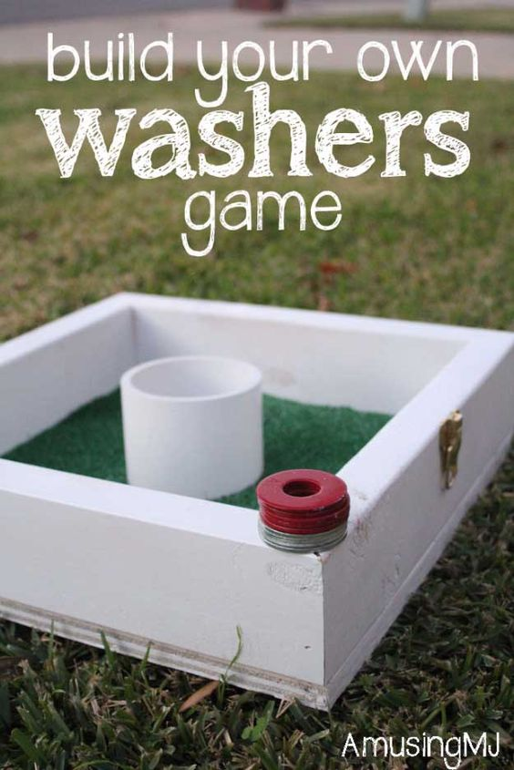 Awesome  Crafts for Men and Manly DIY Project Ideas Guys Love - Fun Gifts, Manly Decor, Games and Gear. Tutorials for Creative Projects to Make This Weekend | Build Your Own Washers Game   |  http://diyjoy.com/diy-projects-for-men-crafts