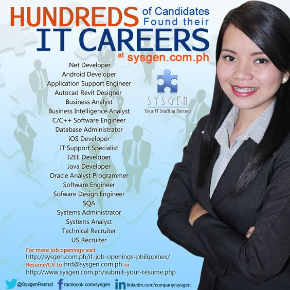 HIRING Net Developer, Autocad Revit Designer, C\/C++ Software - System Analyst Job Description
