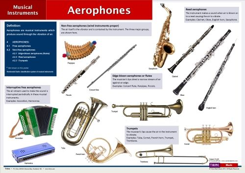 Printables 4 Classification Of Musical Instruments aerophones in the hornbostel sachs classification system are instruments which produce sound by action of air passing through an