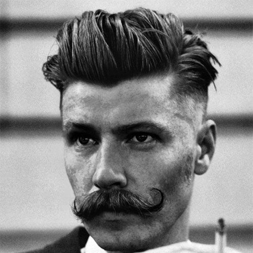 11++ Retro haircuts for men ideas