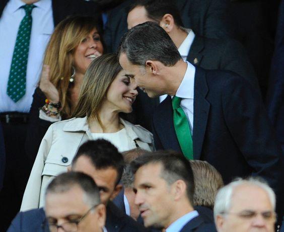 Otra romántica instantánea de los Reyes. 22.05.2016