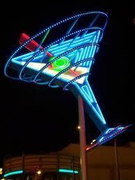 Neon Martini...