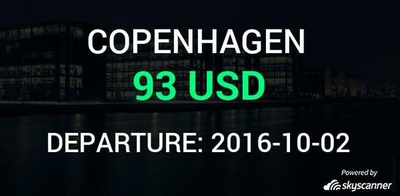 Flight from Miami to Copenhagen by SAS #travel #ticket #flight #deals   BOOK NOW >>>