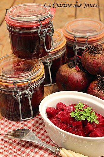 Conserve de Betteraves Rougese - Faites vos réserves pour toute l'année ! Photo : Eric - La Cuisine des Jours... © 2015