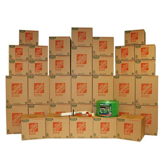 35 box medium packing kit other home and the o 39 jays. Black Bedroom Furniture Sets. Home Design Ideas