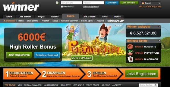 Winner Casino: Spielautomaten im Landhaus