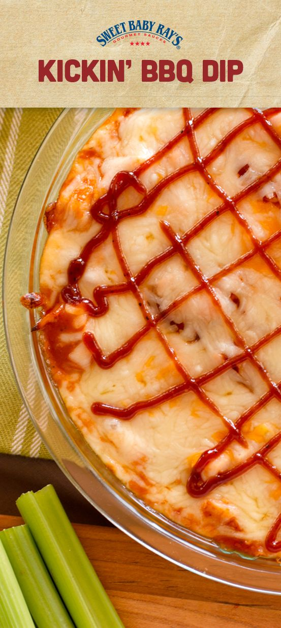 This tangy, cheesy, kickin' BBQ dip is sure to please every palate.