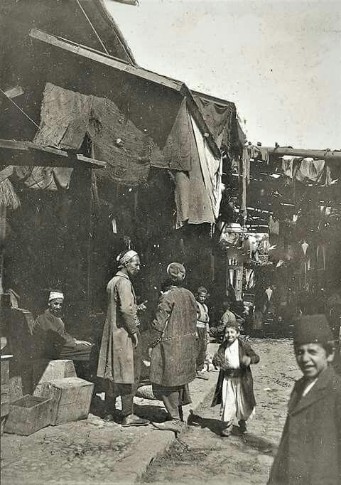 دمشق 1909 سوق الجمعة الشيخ محي الدين الصالحية Syrie Extreme Orient Orient