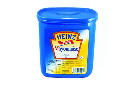 Sốt Mayonnaise Heinz - Hộp 3 Kg