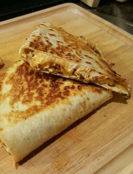 "(Better Than) Taco Bell Quesadilla Copycat - ""these were actually really close.  it's the sauce that made it the copycat I feel.  thanks for a great recipe! I loved it!"" @allthecooks #recipe"