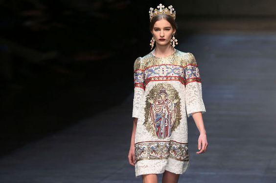 Mailand Fashion Week Februar 2013: Dolce & Gabbana