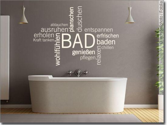 Badezimmer Wandtattoos In 2020 Mit Bildern Wandtattoo Bad Badezimmer Wandtattoo