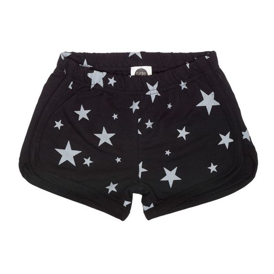 Shorts Stars Black Funky Legs