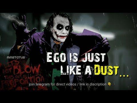 Joker Attitude Joker Whatsapp Status Mmstatus Youtube