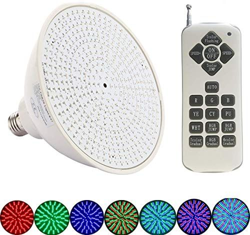 Enjoy Exclusive For P Led 120v 35w Color Changing Replacement Swimming Pool Lights Bulb Led Par56 Light Switch Control Remote Control Type For Pentair Haywa In 2020 Swimming Pool Lights Pool Lights
