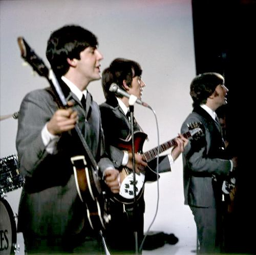 * The Beatles! * On Stage.