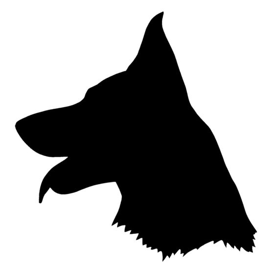 K9 German Shepherd Clipart german shepherd silhouette - google search ...