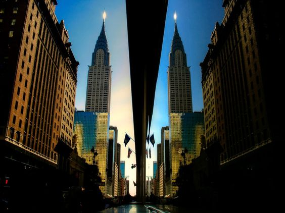 42nd Street Reflection (color)