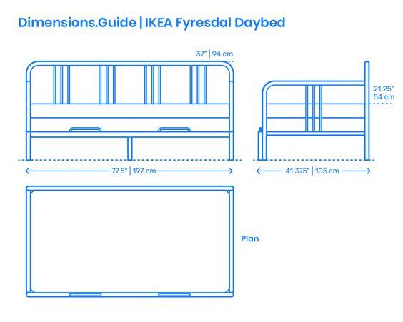 Ikea Fyresdal Daybed Fyresdal Daybed Diy Daybed