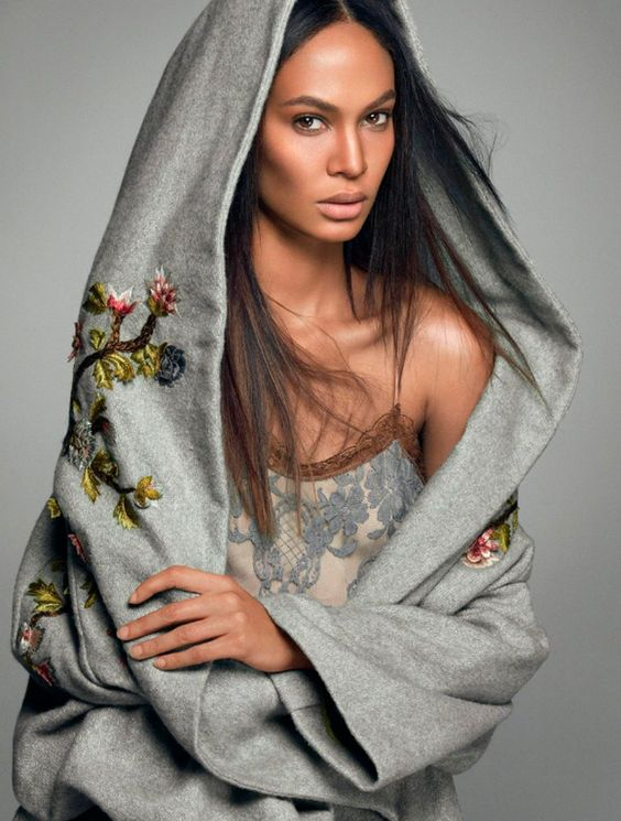 Joan Smalls stars in the Cover Story of Numéro's November 2016 Issue Look______0002