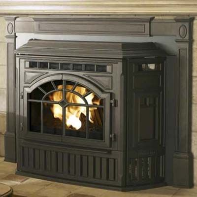 how to clean a fireplace insert
