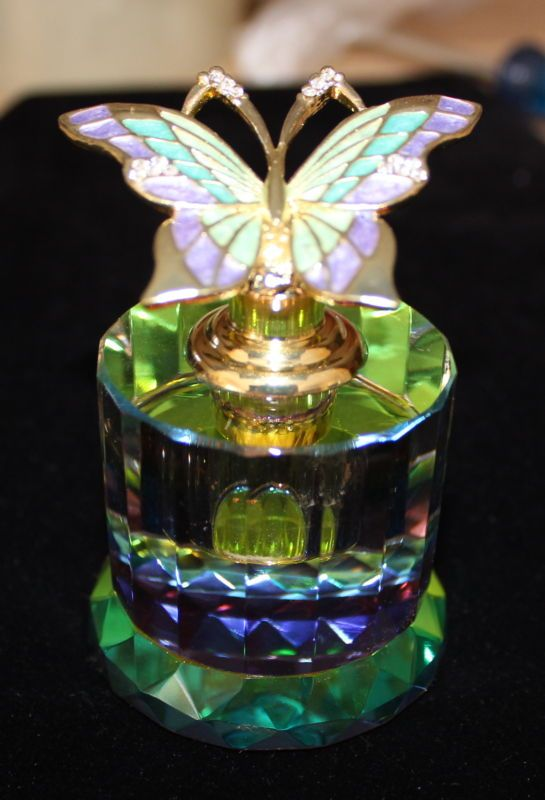 BEAUTIFUL - PERFUME - BUTTERFLY - Decanter - Bottle NIB | Perfume Bottle: