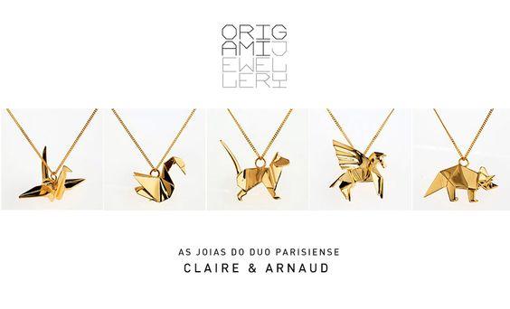 os Achados | Joias | Origami Jewellery