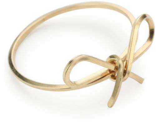 """By Boe """"Reminder Bow Ring"""" 14k Gold Filled, Size 7 By Boe http://www.amazon.com/dp/B003V89R1G/ref=cm_sw_r_pi_dp_5mBUtb1TNKF8HZ73"""