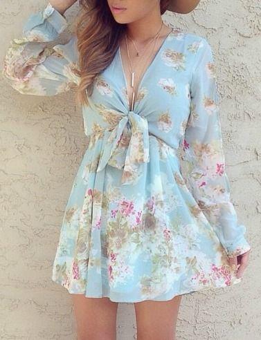 Rosa Palooza Mint Floral Print Dress