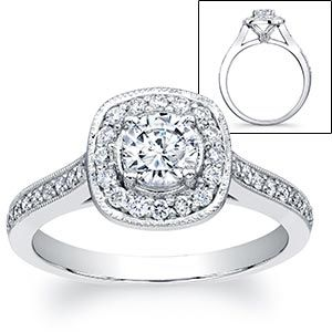 Costco engagement rings...who woulda thought! Love it!