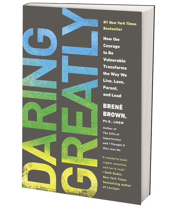 Daring Greatly by Brene Brown. Every day we experience the uncertainty, risks, and emotional exposure that define what it means to be vulnerable or to dare greatly. Based on twelve years of pioneering research, Dr. Brené Brown dispels the cultural myth that vulnerability is weakness and argues that it is, in truth, our most accurate measure of courage.