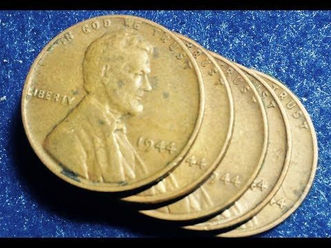 1944 No Mint Mark Wheat Penny Highest Mintage Of All Wheaties Youtube Wheat Penny Value Rare Coins Worth Money Penny
