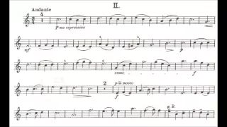 Küchler, Ferdinand opus 11 for violin + piano - YouTube