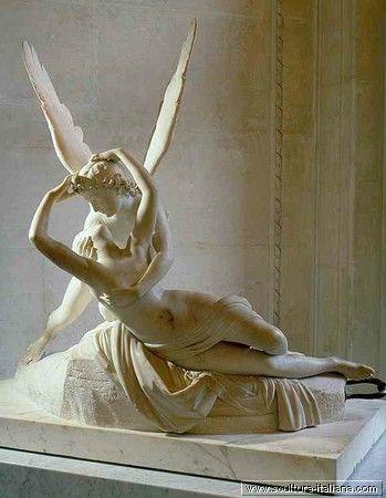 Antonio Canova - Amore e Psiche giacenti (Louvre, Parigi, 1797-93)  .jpg