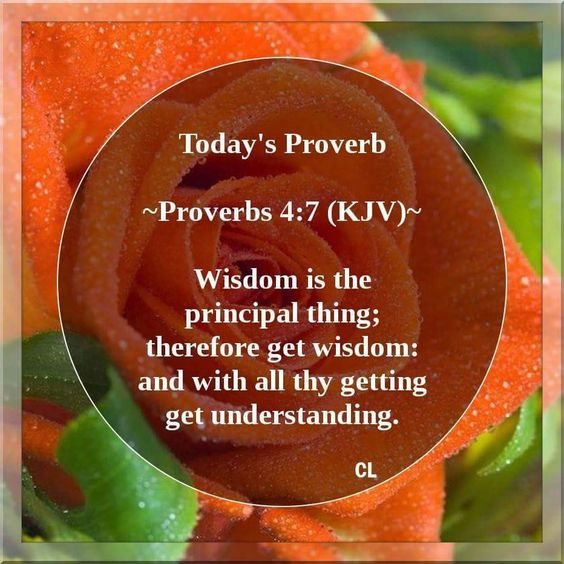 Proverbs 4:7 KJV