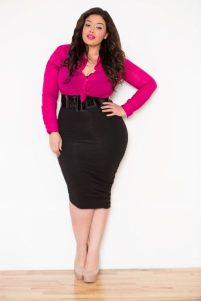 Sexy, Big Girl Fashion And Going Out On Pinterest