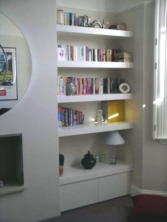 Handmade built in cupboards by Peter Henderson Furniture, Brighton, UK