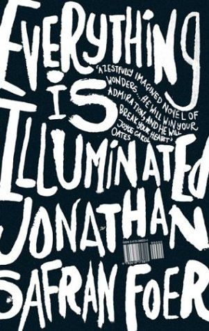Everything Is Illuminated (2002) by Jonathan Safran Foer, first edition book cover