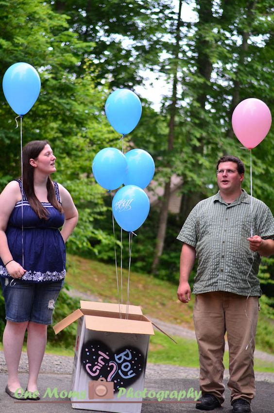 Gender Reveal Picture Ideas