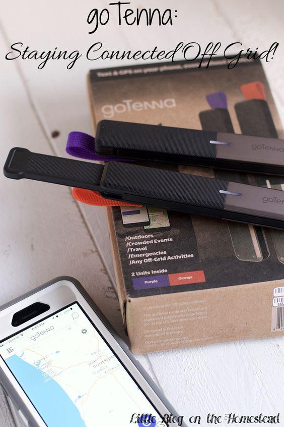 goTenna: Staying Connected Off Grid! - http://www.littleblogonthehomestead.com/gotenna/