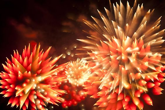 amazing long exposure photos of fireworks. credit:  david johnson
