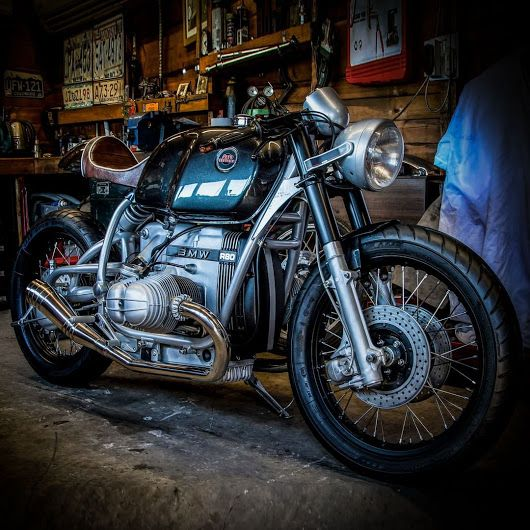 Bmw R80 Cafe Racer By Dog House Customs Bmw R80 Doghousecustoms